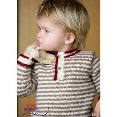 Boy's Sweater In Adriafil Regina - Digital Version £1.99