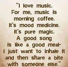 Morning Mug Full of Music. #Coffee #music
