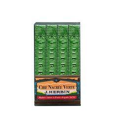J. Herbin Pearlescent Wax Green 4/Pk