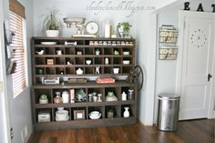 Love the storage and the filing area for papers.