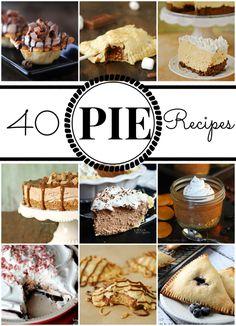 40 Delicious Pie Recipes