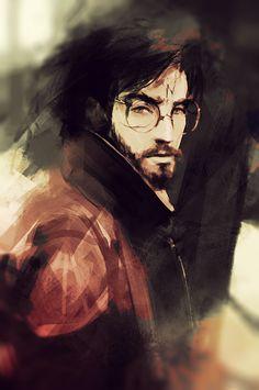 The Chosen One.  Happy birthday, Harry Potter :) by Pokie