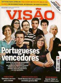 Oferta da revista VISÃO na tua casa