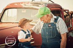 So sweet!Gonna have to try and get bubba steven and baby lymon some little overhaul's and matching hats and get some pic's of them and poppa chuck!