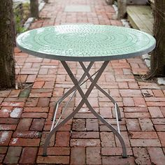 Tile Top Garden Table in Outdoor Living FURNITURE Tables+Chairs at Terrain