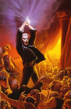 The Dark Tower: Father Callahan by Michael Whelan