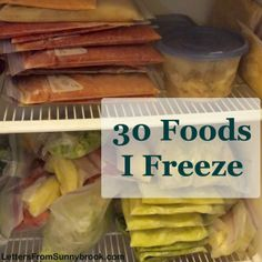 Switching from pre-packaged foods to homemade can be difficult for family members to adjust. My freezer inventory and tips for saving and using up food.