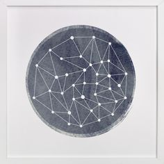 """""""Constellation"""" by annie clark in beautiful frame options and a variety of sizes."""