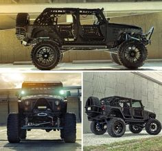 One bad black jeep