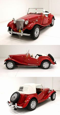 beautiful 1953 MG TD Replica for sale Replica Cars, Old Sports Cars, Classy Cars, Cars For Sale, Ali, Shape, Classic, Beautiful, Old Muscle Cars