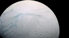 freakishlyawesomestuff:  A stunning high res photo of Saturn's Moon Enceladus