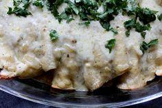 A Bountiful Kitchen: Cream Cheese and Chicken Enchiladas