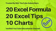 Make Marksheet in Excel ☑ | Microsoft Excel Training Video ...