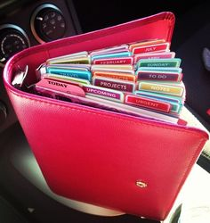 Filofax tabs!! Crazy amount of tabs.