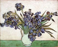 Irises by Vincent van Gogh #art