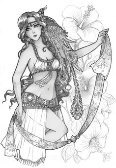 I can't draw hibiscus by Kamidoudou on DeviantArt Coloring Pages For Grown Ups, Coloring Book Pages, Hibiscus, Gypsy Tattoo Design, Greyscale Colour, Gypsy Women, Traditional Fashion, Free Printable Coloring Pages, Colorful Drawings