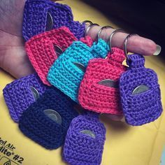 Aldi Quarter Keeper {FREE Crochet Pattern}                                                                                                                                                                                 Más