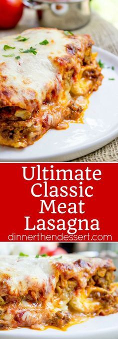 (83) Ultimate Meat Lasagna | Recipe