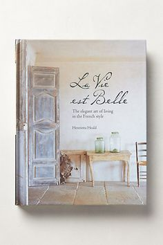 La Vie Est Belle #anthrofave #anthropologie.com