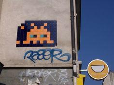 Street ArtistSpace Invader #StreetArt #Art