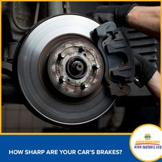 Don't leave your safety to chance.  We have all the parts you need to keep your brakes sharp!  #kirkmotors #Napa #tools #parts #caymanislands
