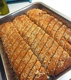 Greek Sweets, Greek Desserts, Greek Recipes, Easy Cake Recipes, Sweets Recipes, Cooking Recipes, Lemon Biscotti, Italian Biscuits, Greek Cookies