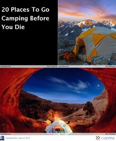 The Best Places to GO Camping (in Summer)