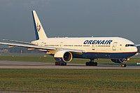 VQ-BNU Orenair (Orenburg Airlines) Boeing 777-2Q8(ER)