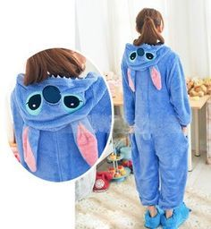 f8d91c7c81 Kigurumi Fancy Hoodie Animal Unisex Costume Pajamas FSSY252 (need extra 7  for express shipping. Lilo Et StitchTenues ...