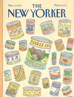 The New Yorker - Monday, December 2, 1991 - Issue # 3485 - Vol. 67 - N° 41 - Cover by : Roz Chast