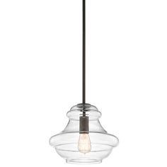 Minor Details HOME: Kichler Lighting 42044OZ Everly Transitional Pendant Light KCH-42044-OZ