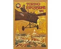 Cover of the promotional booklet of the Turin Exposition of 1911