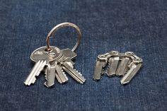 daniel farksas and beata csortan's 'TIK' is a lightweight, minimalist key holder