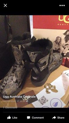 Water-resistant you guys! Couldnt get any better this UGG season.