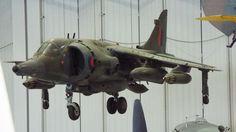 Hawker Siddeley Harrier GR3 1980 Imperial War Museum Duxford
