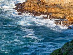 Ocean Motion at Sunrise / Clickasnap Nature Reserve, South Africa, Sunrise, Waves, Ocean, Landscape, Outdoor, Outdoors, Outdoor Games