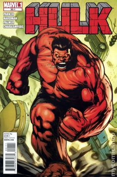 Hulk Cover: Rulk Charging by Gabriel Hardman Marvel Comics Poster - 61 x 91 cm Red Hulk Marvel, Marvel Comics, Comics Anime, Marvel Villains, Marvel Comic Universe, Marvel Art, Marvel Heroes, Hulk Hulk, Hulk Avengers