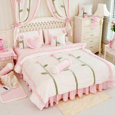 2015 winter Sunflower Coral velvet Keep warm Comforter bedding sets Microfiber Fabric 4pcs Lovely Princess bed set
