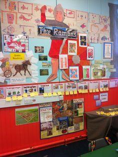 Romans wall display