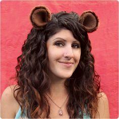 DIY Tutorial: Animal Ear Hair Clips