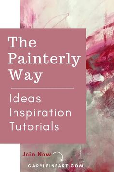 The Painterly Way is a comprehensive membership community with education for artists to develop their own unique style and curate a creative businesses online. Get art and painting ideas, inspiration, and tutorials to expand your creative horizons. Click through to start developing your painting practice and create a following of collectors. Your Paintings, Animal Paintings, Online Painting Classes, Mark Making, Learn To Paint, Art Tips, Abstract Expressionism, Creative Business, Creative Art