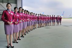 China Southern Airlines Flight Attendants ~ Cabin Crew Photos