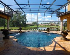 Covered Pool Design, Pictures, Remodel, Decor and Ideas - page 5