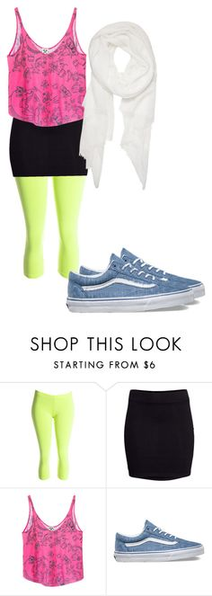 """""""crazy 80's"""" by flashinglights-397 on Polyvore featuring H&M, Civil, Vans and Calvin Klein"""