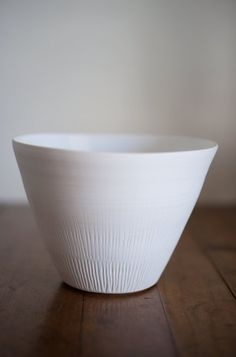 Our good friend makes this lovely pottery.