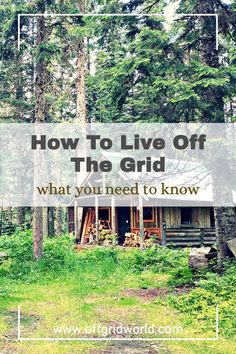 Looking to move off grid, but not sure how to start? It won't be easy, but with the proper planning and research, you can realize your off grid goals. Here are 8 things you should consider as you start your planning. #offgrid #offgridliving #liveoffgrid #sustainableliving #livingoffgrid Off Grid House, Root Cellar, Off The Grid, Life Is An Adventure, Sustainable Living, Homesteading, Need To Know, Sustainability, Eco Friendly