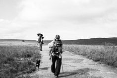 Carregadores do Monte Roraima.