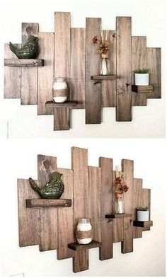 Wooden pallets are generally used all over the world for transporting things from one place to another that's why pallet wood is durable, long lasting and can be easily molded and cutted. So, why not get some blocks of pallet wood and try some DIY projects for a new look of home.