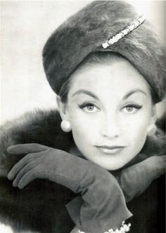Gloves and Hat 1959, via Flickr.