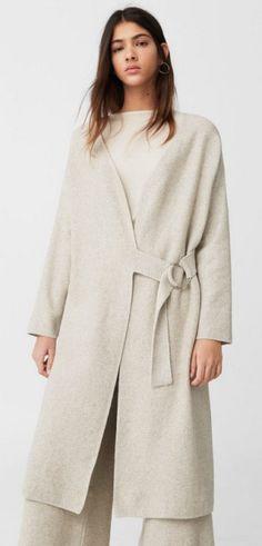 Верхняя одежда для полных женщин Осень-Зима 2017/2018: фото фасонов дизайнерских пальто с модных показов